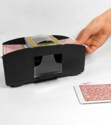 Automatic 2 Deck Playing Card Shuffler - Shuffles 1 to 2 decks