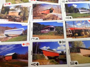 Covered Bridges of Ohio, Kentucky and West Virginia - Souvenir Playing Cards