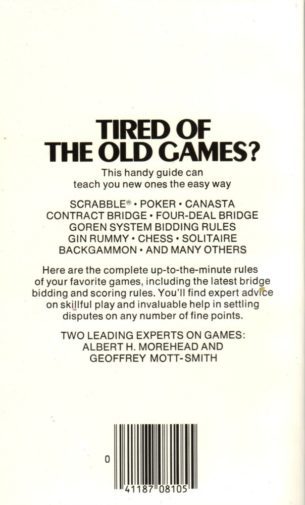 Play According to Hoyle - Hoyle's Rules of Games Paperback Book