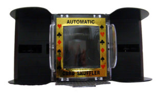 Six (6) Deck Automatic Playing Card Shuffler - Shuffles 1 to 6 decks