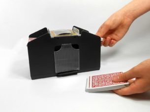 Four (4) Deck Automatic Playing Card Shuffler - Shuffles 1 to 4 decks