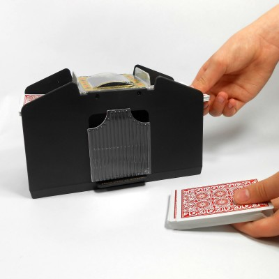 Four (4) Deck Automatic Playing Card Shuffler - Shuffles 1 to 4 decks