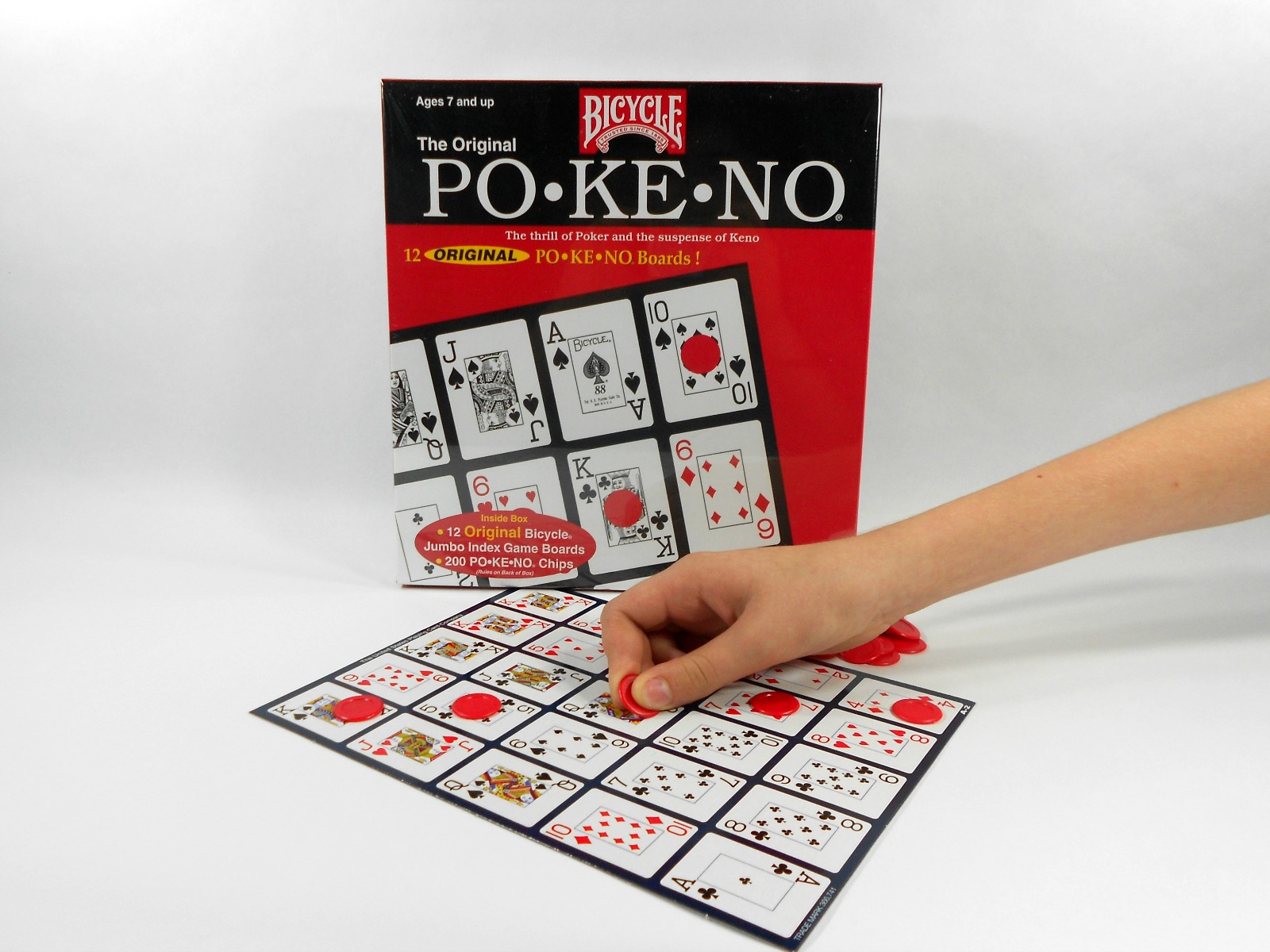 It is a photo of Intrepid Printable Pokeno Cards