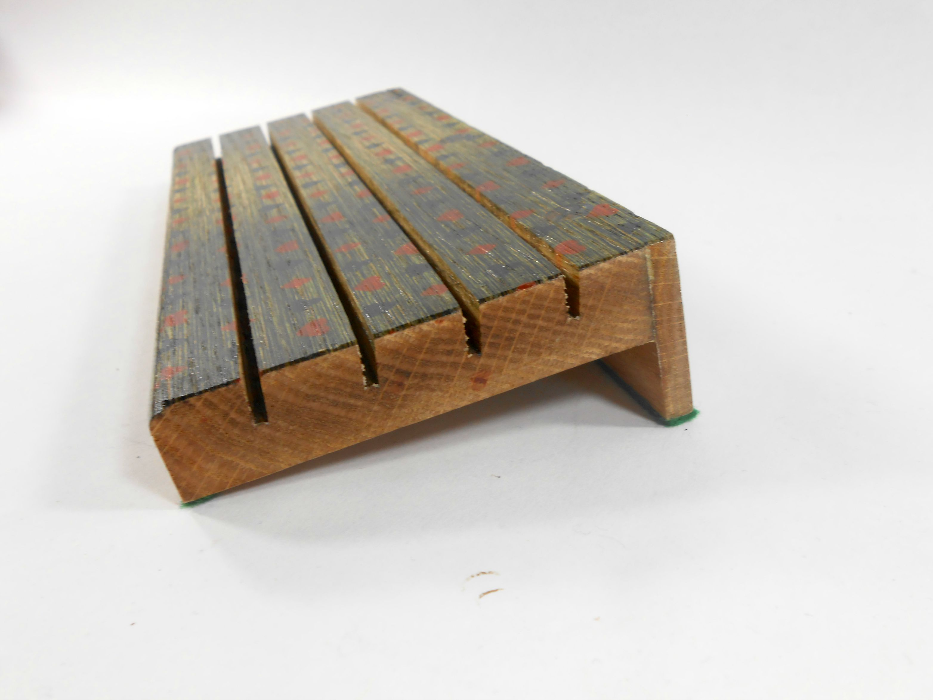 Brushed Above Board Oak 4-Tier Playing Card Holder - Card Playing ...